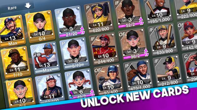 Baseball Clash: Real-time game imagem de tela 3
