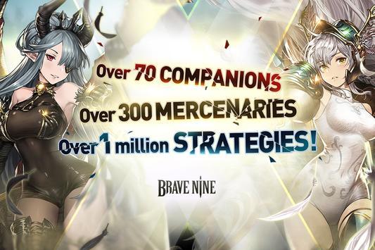 Brave Nine تصوير الشاشة 3