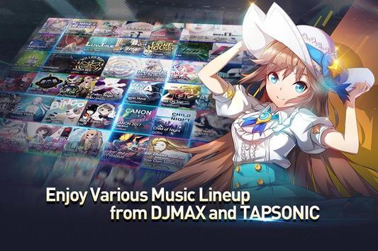 TAPSONIC TOP -タップソニック トップ- 新作音ゲー スクリーンショット 2