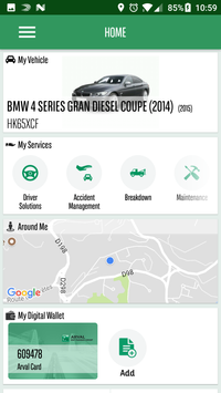 My Arval Mobile screenshot 1