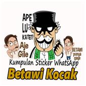 Kumpulan WA Sticker Betawi Kocak - WAStickerApps icon