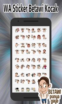 Kumpulan WA Sticker Betawi Kocak - WAStickerApps screenshot 6