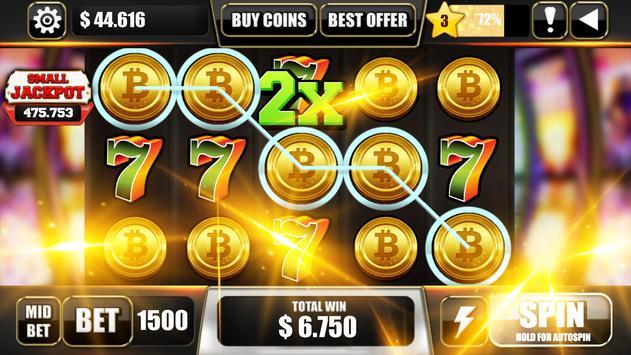 🔷Free Bitcoin Mining Game Slot Machines 🔷 poster