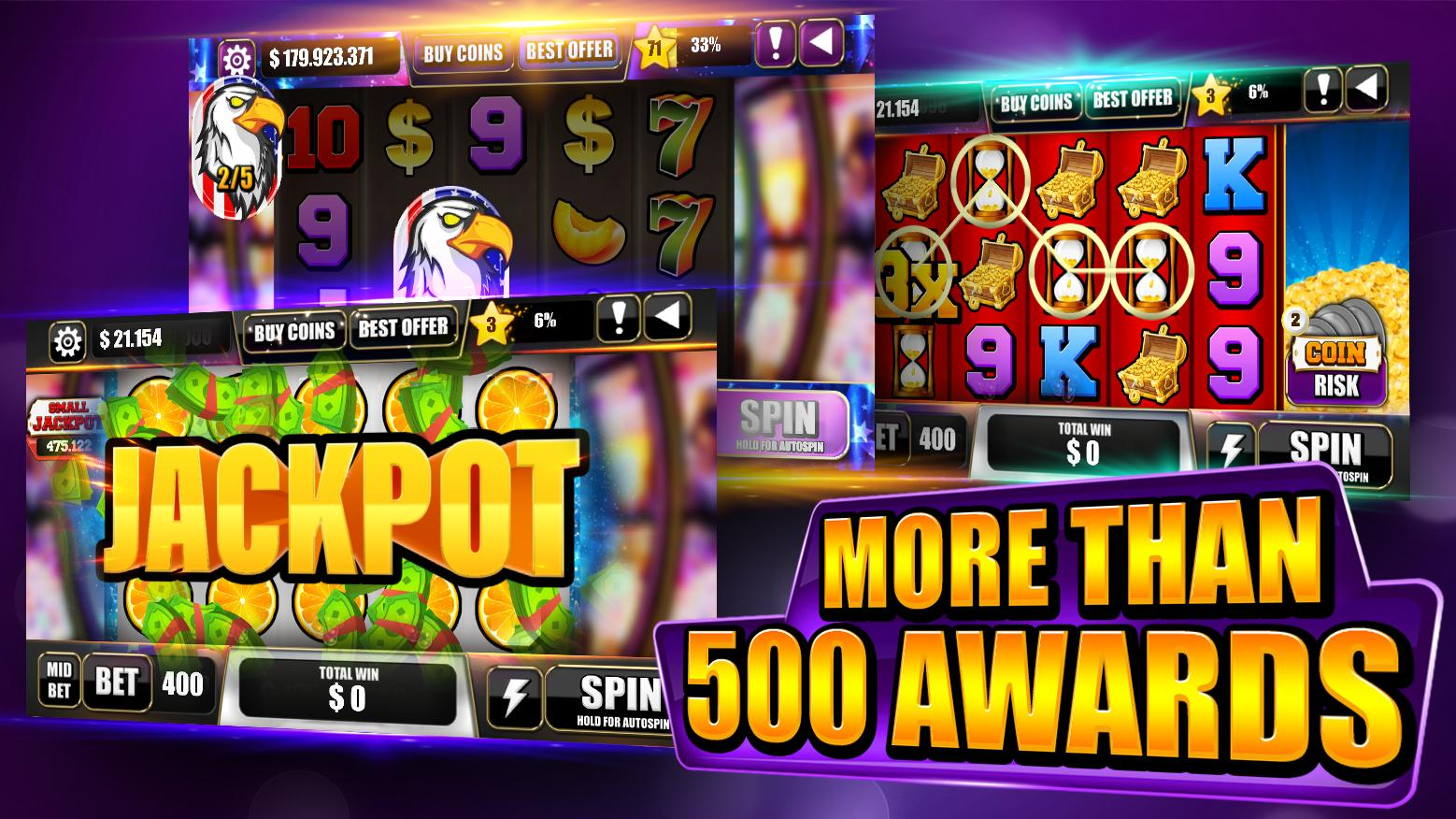 🔷Free Bitcoin Mining Game Slot Machines 🔷 for Android