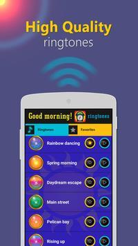 Good morning ringtones poster