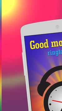 Good morning ringtones screenshot 5