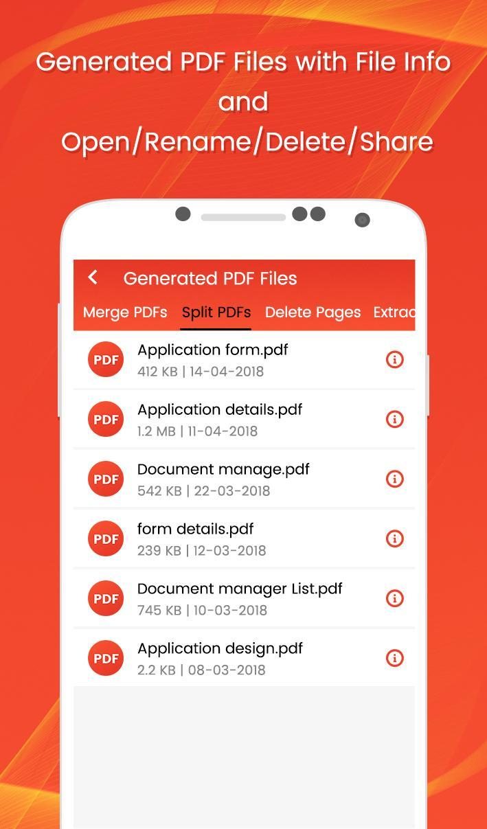 PDF Tools for Android - APK Download