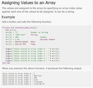 Learn VBA Full Offline screenshot 1