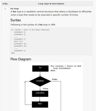 Learn VBA Full Offline screenshot 2