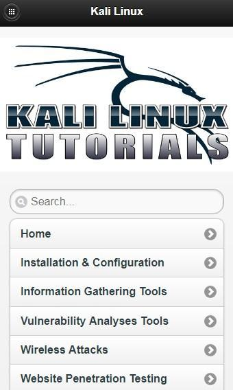 Kali Linux Tutorials Offline for Android - APK Download