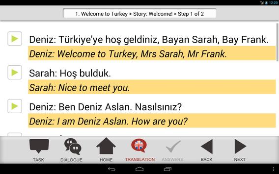 Hands On Turkish screenshot 6