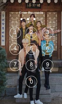 Bangtan Boys Lock Screen KPOP poster