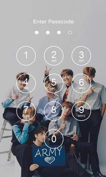 Bangtan Boys Lock Screen KPOP screenshot 1