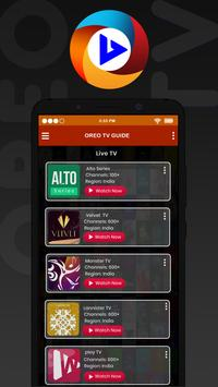 Oreo TV : Live Cricket TV & Movies Tips and Guide screenshot 3