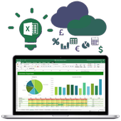 Learn Excel : Data analysis with Microsoft Excel icon