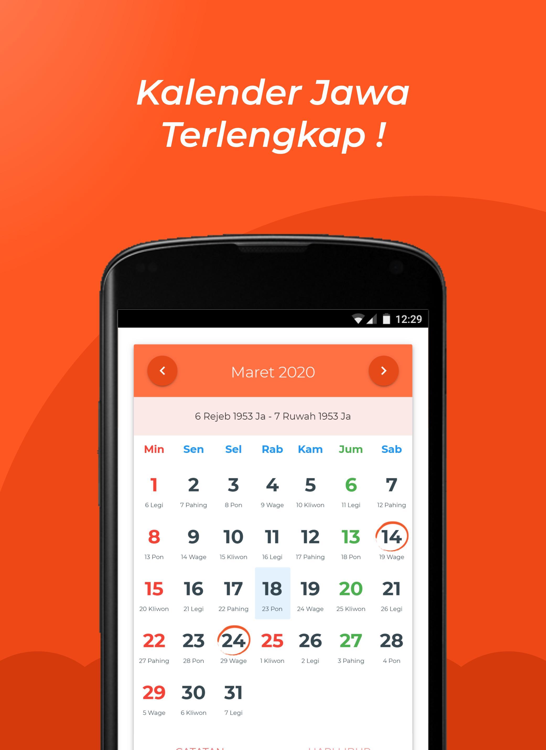 Kalender Jawa Lengkap For Android Apk Download