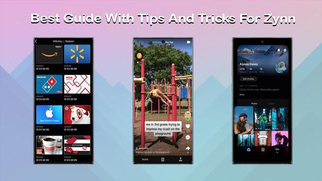 Zynn Money App Rewards Tips poster