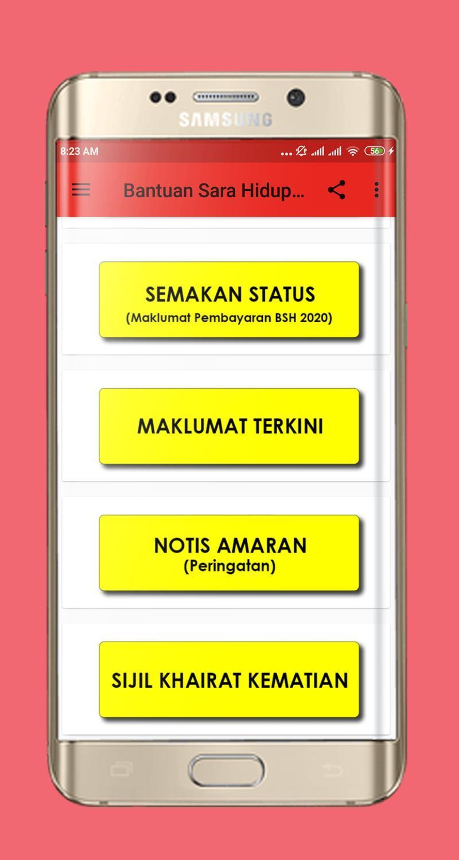 Semakan Bantuan Sara Hidup Terkini For Android Apk Download