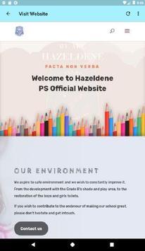 Hazeldene Primary School poster