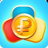 Адверт : мобильный заработок апп! иконка