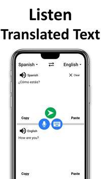 English Spanish Translator & Offline Dictionary Ekran Görüntüsü 6