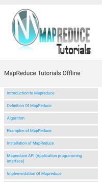 Map Reduce Tutorials Offline screenshot 2