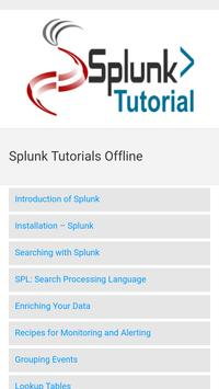 Splunk Tutorials Offline screenshot 2
