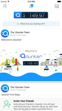 QOUNTER Earn Cash Back for you and your friends poster