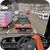 Drive in Car on Highway : Racing games icon