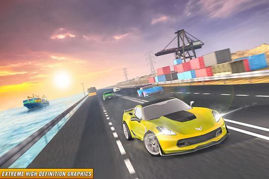Drive in Car on Highway : Racing games screenshot 3