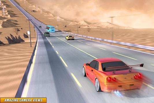 Drive in Car on Highway : Racing games screenshot 1