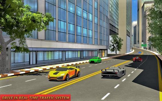 Drive in Car on Highway : Racing games screenshot 7