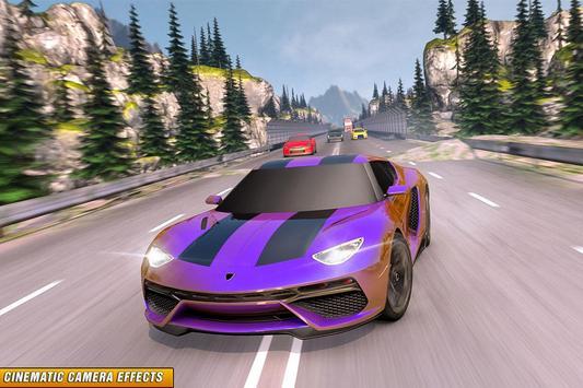 Drive in Car on Highway : Racing games screenshot 4
