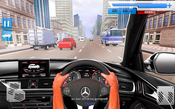 Drive in Car on Highway : Racing games screenshot 5