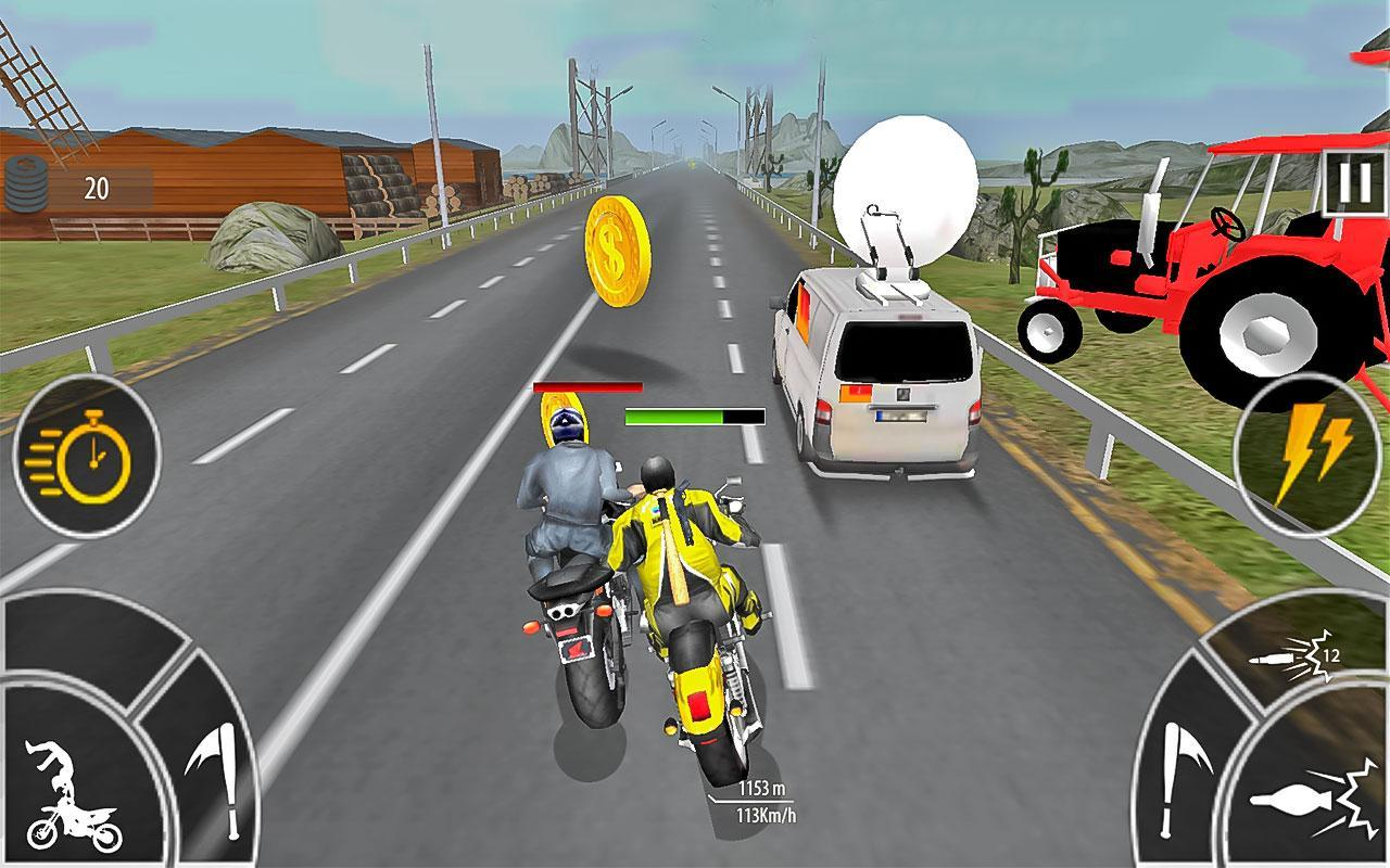 Moto Bike Attack Race 3d games for Android - APK Download