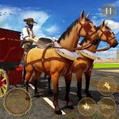 Horse Taxi City Transport: Horse Riding Games icon