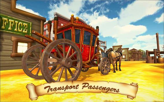 Horse Taxi City Transport: Horse Riding Games poster