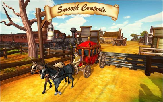 Horse Taxi City Transport: Horse Riding Games screenshot 14