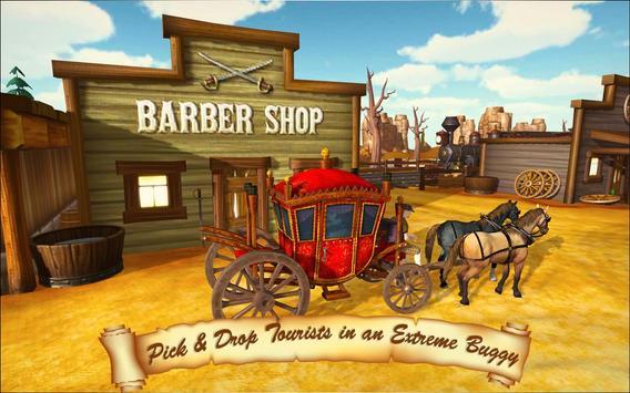 Horse Taxi City Transport: Horse Riding Games screenshot 11