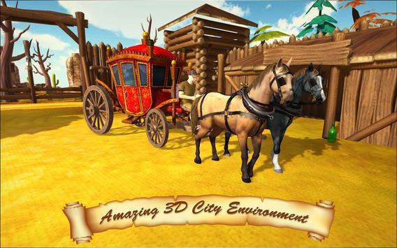 Horse Taxi City Transport: Horse Riding Games screenshot 23