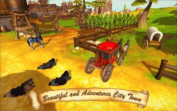 Horse Taxi City Transport: Horse Riding Games screenshot 4