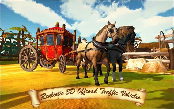 Horse Taxi City Transport: Horse Riding Games screenshot 5