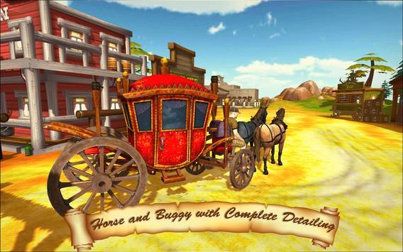 Horse Taxi City Transport: Horse Riding Games screenshot 9