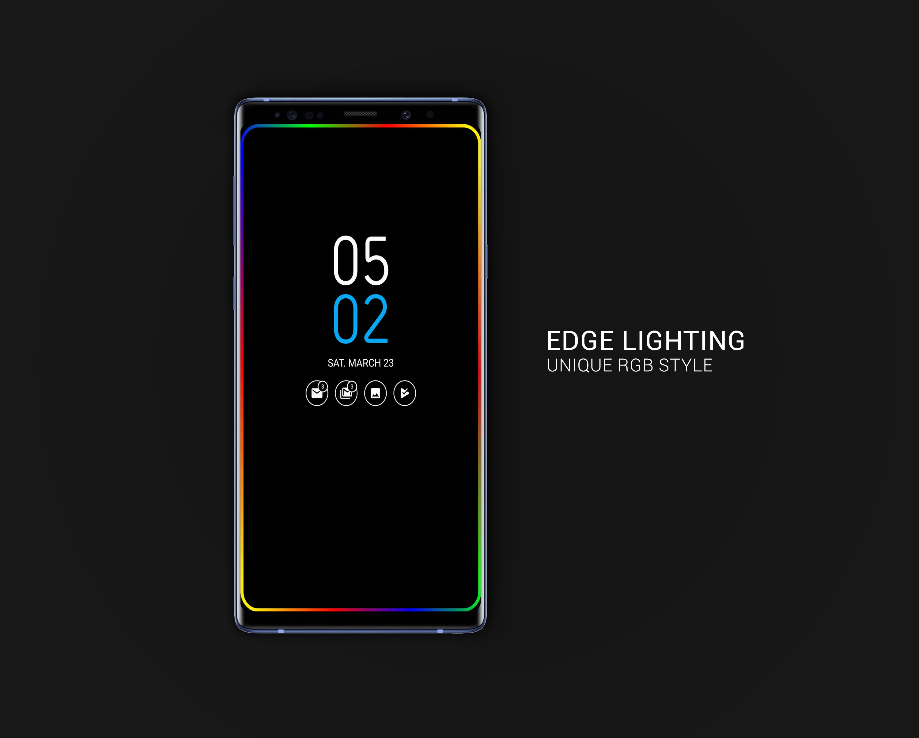 Always on AMOLED | Edge Lighting 🌟 for Android - APK Download