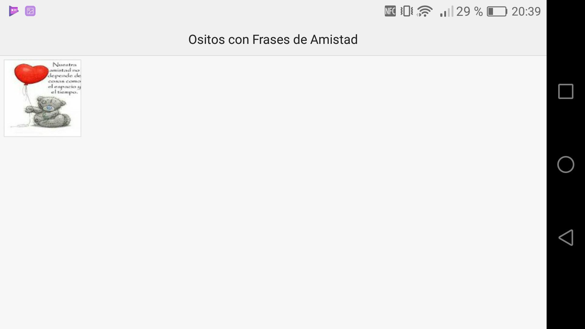 Ositos Con Frases De Amistad для андроид скачать Apk