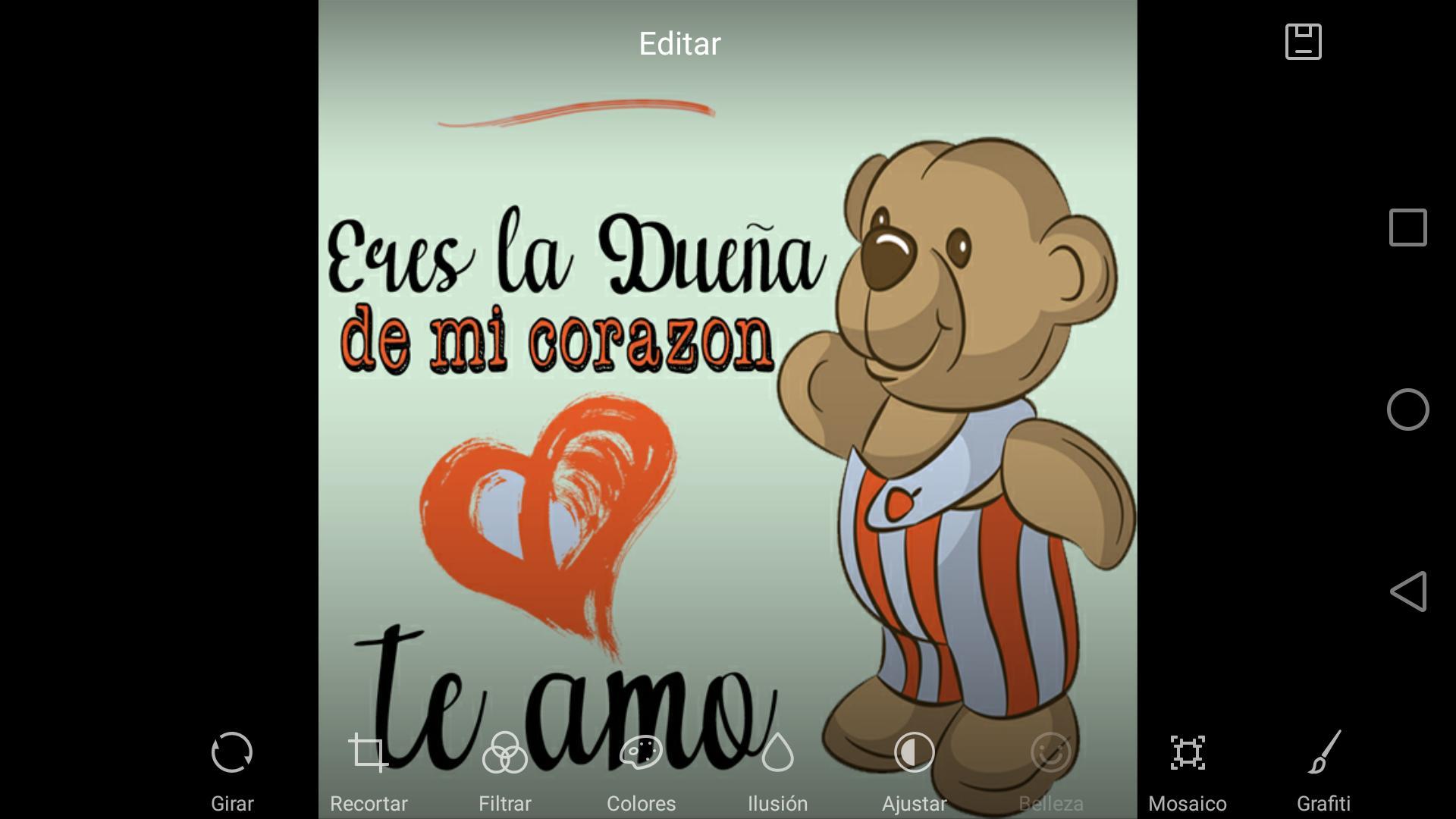 Ositos Con Frases De Amor для андроид скачать Apk