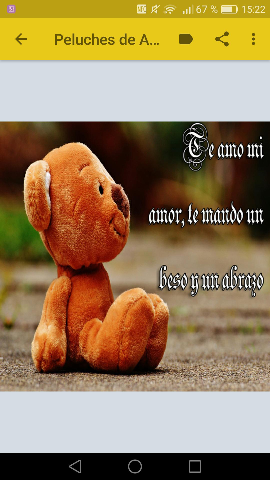 Peluches Y Ositos Con Frases De Amor For Android Apk Download