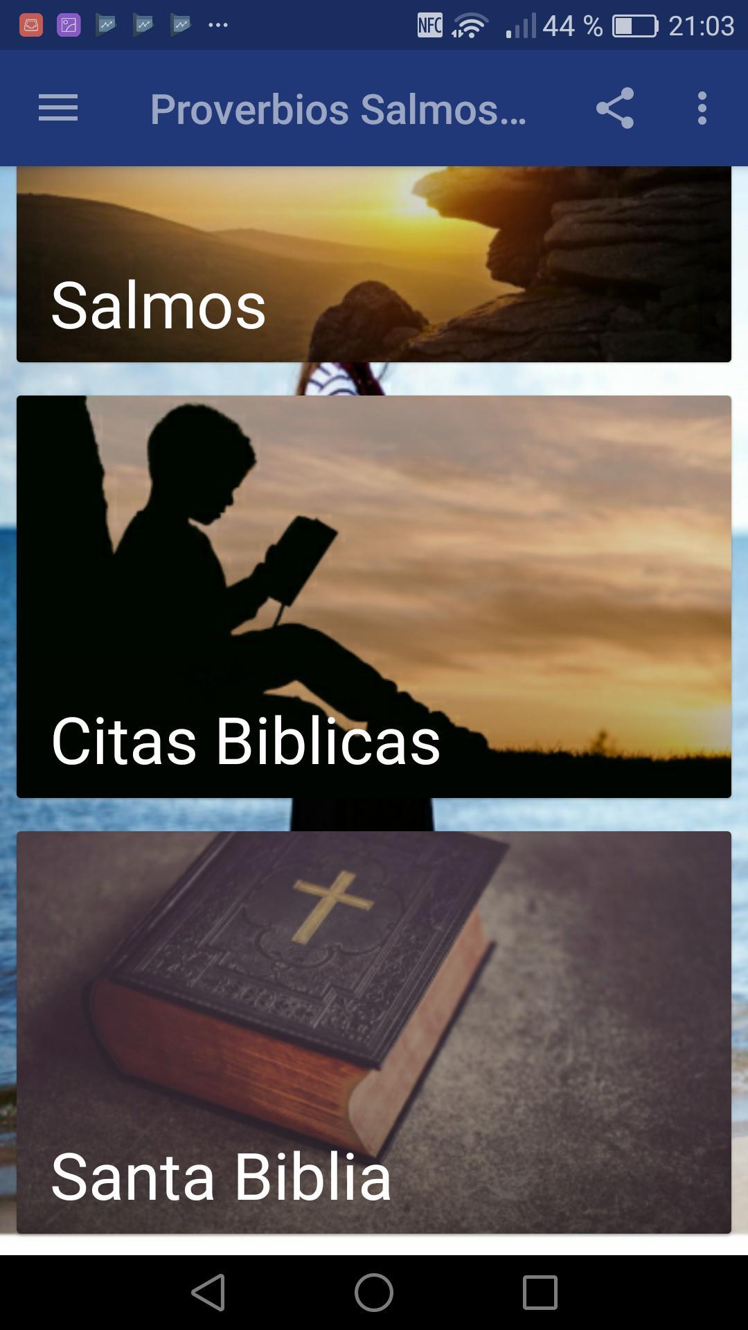 Proverbios Salmos Y Citas Biblicas For Android Apk Download
