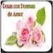 Rosas con Poemas de Amor