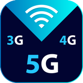 Internet Speed Meter - WIFI Coverage & Speed Test icon